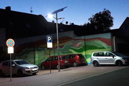 Car park lighting solar