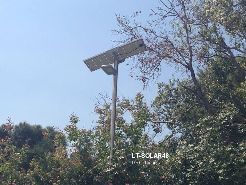 Verbesserte Solar Strassenleuchte mit 5000 Lumen
