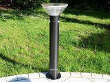 Solar Wegeleuchte Edelstahl Pollerleuchte LED 2-Sensor