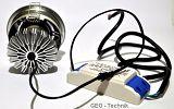 LED Einbaustrahler 9W Alu-Druckguss schwenkbar