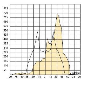 Flutlichtstrahler IP65 1000W HID SON asymmetrisch