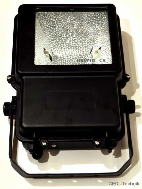 Außenstrahler für HQI Metalldampflampe 150W Exclu