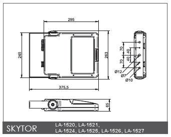 LED Fluter SkyTor Asymmetrisch für Außen 52W