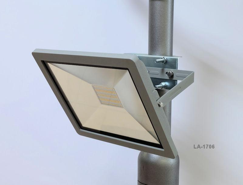 Reitplatzbeleuchtung LED mit Masten