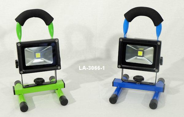 Mobile LED Arbeitsleuchte mit Akku 30W (300W) IP44