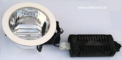 Einbau Downlight Fluo 2 x 26W TC-D IP44