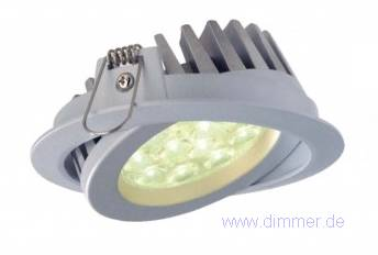 Helles LED Downlight schwenkbar 15W