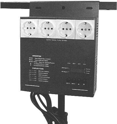 Mini DMX Dimmerpack 4x1000W DDP-405