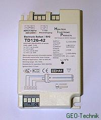 TD 218 Dimmbares Vorschaltgerät EVG 2x 18W