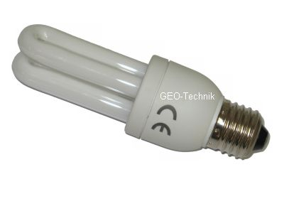 Stufenlos dimmbare Energiesparlampe 11W E27 einfach