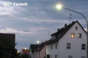 Strom sparen mit LED Strassenleuchten von GEO-Technik