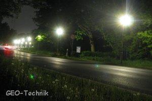 Solar Radwegbeleuchtung mit LED